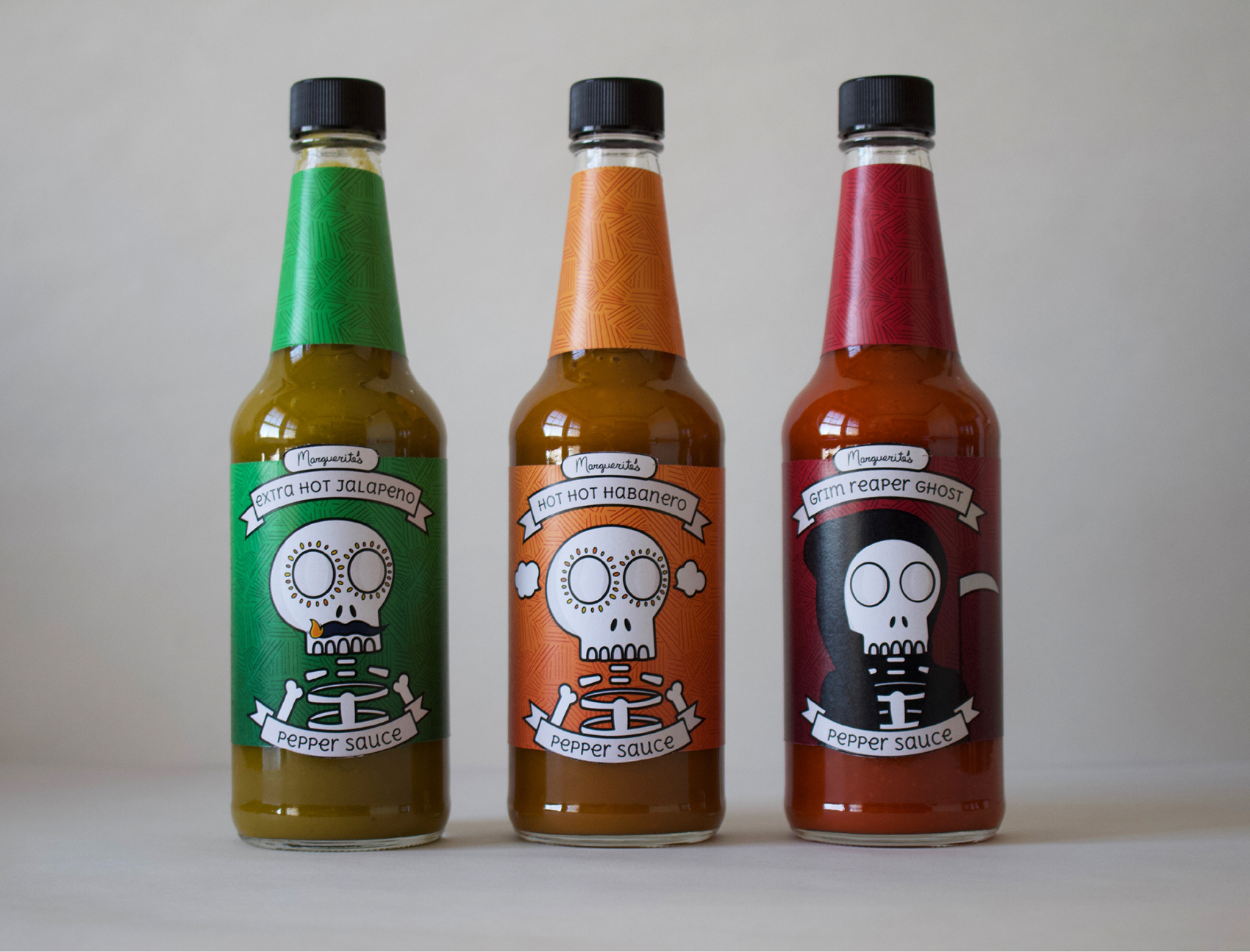 image of hot sauce bottle design
